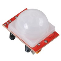 Pyroelectric Infrared PIR Motion Sensor Detector Module-Red