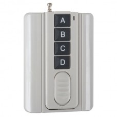 4 Channels 4 Keys Wireless RF Radio Remote Controller 315MHz-Grey