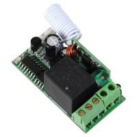 315/433MHz DC 12V Single Channel Learning Code Wireless Remote Control Relay Module