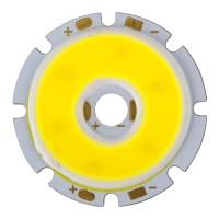5W High Power 15-17V LED Cool White COB LED 420-470lm