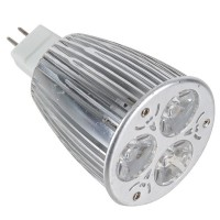 3PCS*2W LED Light Bulb 6W Dimmable Adjustable Spotlight Lamp-Warm White