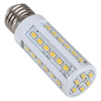E27 Base 110V 42 LEDs 6W 630 SMD LED Corn Light-Warm White