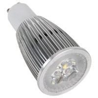 3PCS*2W LED Light Bulb 6W GU10 Dimmable Adjustable Lamp-White