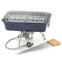 BRS-18 Picnic Cookout Oven Camping Stove BBQ Grill Set