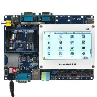 "FriendlyARM Samsung S3C6410 ARM11 Mini Board+ 4.3"" Touch LCD Screen"