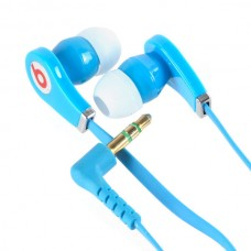 3.5mm Super Bass Stereo Earphones High Quality Headphone For lPOD lPHONE MP3 MP4 Blue
