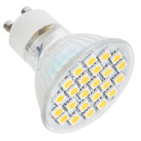 GU10 5050 24 LED 220V LED Light Bulb