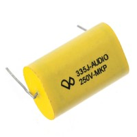 335J Audio 250V-MKP Metallized Film Capacitor 5-Pack