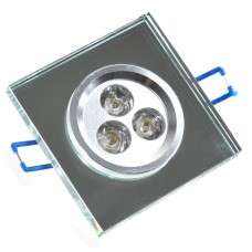 Quadrate 3W Downlight LED Light With LED Driver