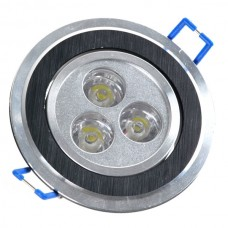 3w Led Ceiling Light Led Ceiling Lamp Led Recessed Ceiling Light with LED Driver