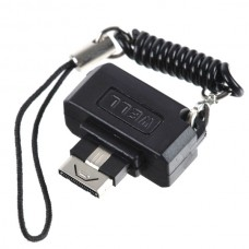 3.5mm Audio Adapter Keychain for LG KG800/KC550/KE970