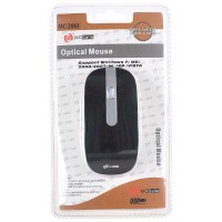 MC Saite Optical Mouse for Computer Laptop Black