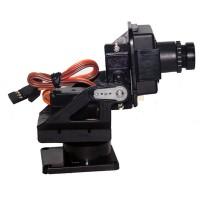 PT Pan/Tilt Camera Platform Anti-Vibration Camera Mount for Aircraft FPV