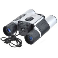 10X25 4MB USB Digital Camera Binoculars (300KPixels)