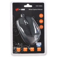 MC Saite 086 Optical Mouse For Computer and Laptop Notebook Black