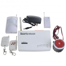 Advanced Electronic Anti-theft Wireless Home Automation and GSM Security Alarm System