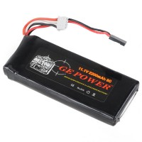 GE POWER 2200mAh 8C 11.1V Rechargeable Lithium Polymer Battery