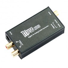 MUSE 24Bit/192Khz Digital Optical Coaxial to Analog RCA Audio Converter DAC