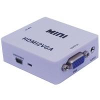 HDV-M630 MINI HDMI to VGA + Audio