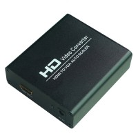 HDMI to VGA+L/R Scaler Auto HD Video Adapter Converter