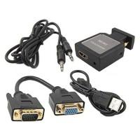 HDV-M618 HDMI to VGA/ypbpr + SPDIF + Audio Converter Adapter