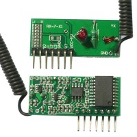 5V 4CH with Coding/Encoding Receive Module with 2272IC Inching Inter-Lock and Self-Lock