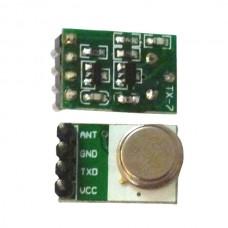 TX-7 5V 315MHz 433.92MHz 100m Micro Transmitter 2-Pack