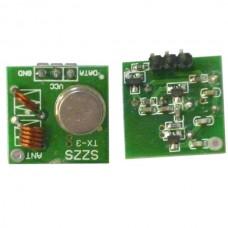 TX-7 5V 315MHz 433.92MHz 1000m Micro Transmitter 2-Pack