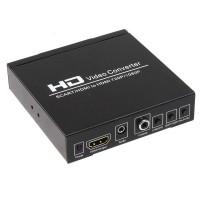 Scart + HDMI to HDMI Converter (Upscaler) HDV-8S
