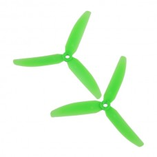 1Pair Gemfan 5030 5030R 3-Blades CW CCW Propeller for Micro QuadCopter Multicopter-Green