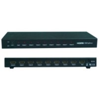 HDMI 1x8 Splitter Support 3D (HDMI1.4/3D) HDV-818