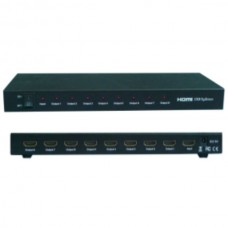 HDMI 1x8 Splitter Support 3D (HDMI1.4/3D) HDV-818