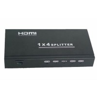 HDMI 1x4 Splitter Support 3D (HDMI1.4/3D) HDV-814