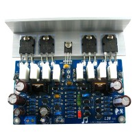 L20 Audio Power Amplifier AMP Assembled Board 2Channel with Heatsink 2pcs