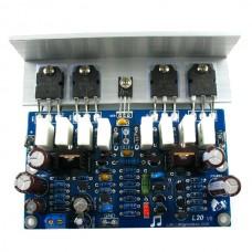 L20 Audio Power Amplifier AMP Assembled Board 2Channel with Heatsink 2pcs