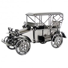 Original Handcraft Stainless Steel Bubble Car Model Creative Unique Model Gift