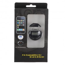 Super Mini FM Transmitter for ipod and iphone with LCD Display
