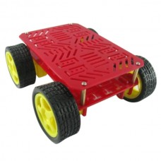 4WD Smart Car Chassis Car Body Tracking Tracing Robot Car