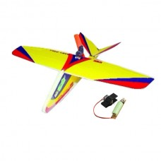 GWS - Baby Gull Free Flight Airplane Kit with Glue Power Battery
