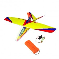 GWS - Baby Gull Free Flight Airplane Kit with Glue Power Battery / Charger