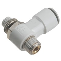 SMC AS1201F-02-10S Penumatics Fitting Air Flow Control Valve with One-Touch Fitting 10-Pack
