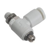 SMC AS1201F-M5-04 Penumatics Fitting Air Flow Control Valve with One-Touch Fitting 10-Pack