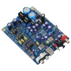 24BIT/192k WM8805+AD1955+PCM2706 Coaxial Fiber Optic USB DAC Board Kit MS-1