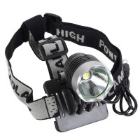 1200 Lumens Cree XML-T6 RechargeableHigh Power LED Bicycle Light Headlight