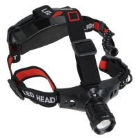 0813 R5 Headlamp Zoom 3W Single Cree LED Head Lamps