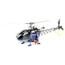 Walkera 2.4G 3-axis Flybarless 4F200LM RC Helicopter Heli (DEVO-version) Blue
