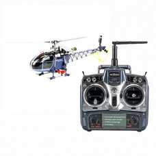 Walkera 3-axis Flybarless 4F200LM RC Helicopter Blue with WK2801 Radio Transmitter