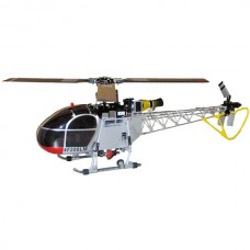 Walkera 2.4G 3-axis Flybarless 4F200LM RC Helicopter Heli (DEVO-version) Silver