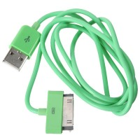 1M Length USB Cable Cord for Apple iPhone 4 4s iPod-Green