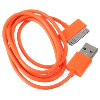 1M Length USB Cable Cord for Apple iPhone 4 4s iPod-Orange